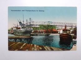 Havenwerken Met Transporteurs Te Sabang. Indonesia. P. Alberti, Sabang. Pja16-13 - Indonesia