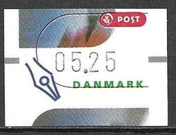 Denmark Danmark Dänemark 2000 ATM Franking Labels Vignettes D'Affranchissement Michel No. 12 5,25 MNH Neuf Postfrisch ** - ATM/Frama Labels