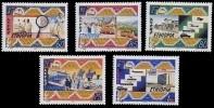 (354) Ethiopia / Ethiopie Post Centennary / Jubilee / 1994  ** / Mnh  Michel 1472-76 - Ethiopia