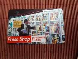 Phonecard Press Shop HJ 31.10.2000 Used - Belgique