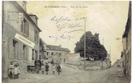 Dep.60. - Vineuil-Saint-Firmin - Oise - Rue De La Gare - Senlis