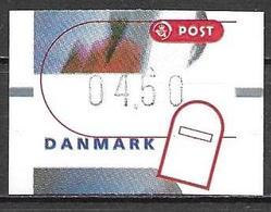Denmark Danmark Dänemark 2000 ATM Franking Labels Vignettes D'Affranchissement Michel No. 13 4,50 MNH Neuf Postfrisch ** - ATM/Frama Labels