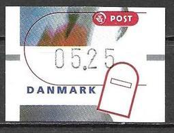 Denmark Danmark Dänemark 2000 ATM Franking Labels Vignettes D'Affranchissement Michel No. 13 5,25 MNH Neuf Postfrisch ** - ATM/Frama Labels