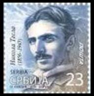 Serbia 2019 Nikola Tesla, Definitive Stamp, MNH - Serbia