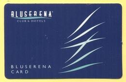 BLUSERENA CLUB & HOTELS - BLUSERENA Card - Cartoncini Da Visita