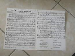 Ses Amours De Vingt Ans & Hot Charleston (Musique E Sauton, R Terrisse- Ladrière)(Paroles Terrisse-Boudet)- Partition - Liederbücher