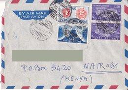 Aerogramma Diretto In Kenia Da Torino - 1951 - Francobollo Sardo - Montecassino 2 Valori - Fiera Del Levante - 6. 1946-.. Repubblica