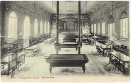 ALOST - College Sait-Joseph - Salle De Jeux - Billard - Aalst