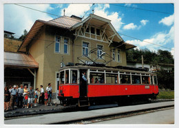 OSTERREICH  AUSTRIA       TRAIN -ZUG- TREIN -TRENI-  GARE  BAHNHOF-STATION-STAZIONE   2  SCAN   (NUOVA) - Trains