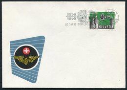 1956 Switzerland Simplon 50th Anniversary Railway Bern Cover - Covers & Documents