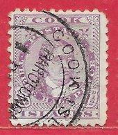Cook (îles) N°7C 1,5p Violet (dentelé 11) 1893 (RAROTONGA) O - Cook Islands