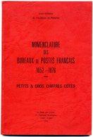 France Nomenclature Oblitérations Petits Et Gros Chiffres  Pothion  1979 - Cancellations