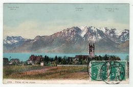Suisse // Schweiz // Switzerland // Vaud // Vevey Et Les Alpes - VD Vaud