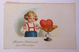 """Namenstag, Kinder, Mode, Herz, Waage"" 1931 ♥  - Feiern & Feste"