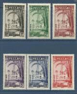 "Fezzan Taxe YT 6 à 11 "" Série Complète "" 1950 Neuf* - Fezzan (1943-1951)"