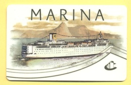 ITALY - COSTA - MARINA - CRUISE CABIN KEY CARD - Amacard - Chiavi Elettroniche Di Alberghi