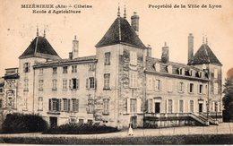 Mizérieux  - Cibeins - Ecole D'Agriculture - - Autres Communes