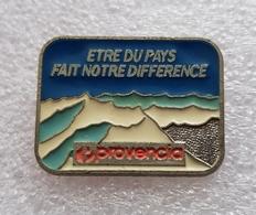 """Pin's  France """" POVENCIA """" - Villes"""