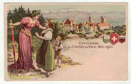 Suisse // Schweiz // Switzerland // Vaud //  Centenaire Vaudois - VD Vaud