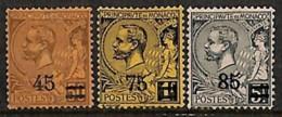 [811390]TB//*/Mh-c:3e-Monaco 1924 - N° 70/72, Albert I Surchargés, SC. - Monaco