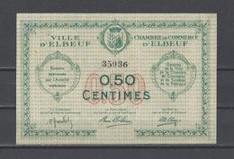 Chambre De Commerce D'ELBEUF  Billet De 50c - Chamber Of Commerce