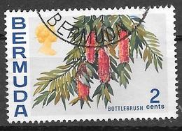 1970 2 Cents Queen Elizabeth, Used - Bermuda