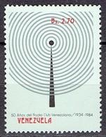 Venezuela 1984 - 50 Yr Radio Club Venezolano - Michel 2281, Yvert 1156  - MNH, Neuf, Postfrisch - Venezuela