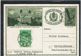 DIV1 - HONGRIE CARTE PSTALE ILLUSTREE CIRCULEE - Postal Stationery