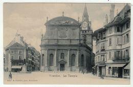 Suisse // Schweiz // Switzerland // Vaud // Yverdon, Le Temple - VD Vaud