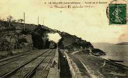 44...loire Atlantique....le Cellier...le Tunnel De La Saulzale....train - Le Cellier