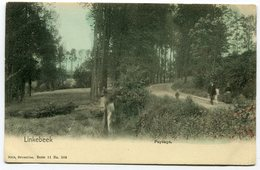 CPA - Carte Postale - Belgique - Linkebeek - Paysage - 1908  (C8716) - Linkebeek