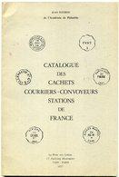 France Catalogue Des Oblitérations Courriers Convoyeurs Stations   Pothion  1977 - Philately And Postal History