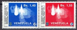 Venezuela 1986 - Congress Og Engineers And Architects - Mi. 2373-74, Yv. 1242-43 - MH, Avec Trace De Charniere, Ungebr. - Venezuela