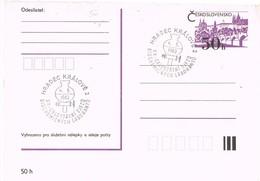 32913. Tarjeta Entero Postal HRADEC KRALOVE (Checoslovaquia) 1983. Bio Quimica Laboratorio - Postales