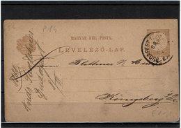 DIV1 - HONGRIE CARTE POSTALE CIRCULEE - Postal Stationery