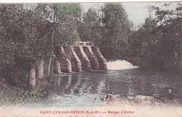77-SAINT-CYR-SUR-MORIN- BARRAGE D'ARCHET - Francia
