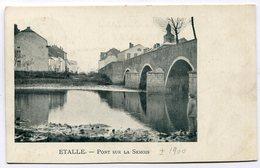 CPA - Carte Postale - Belgique - Etalle - Pont Sur La Semois (C8718) - Etalle