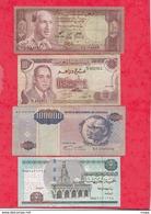 Autres-Afrique 8 Billets 5 Dans L 'état 2 état Moyen Et 1 Usagé  Lot N °7 - Billets
