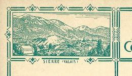 Carte Illustré Neuve N° 115 - 014   SIERRE (VALAIS)   (Zumstein 2009) - Entiers Postaux