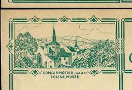 Carte Illustré Neuve N° 115 - 013  ROMAINMÔTIER (Vaud) EGLISE, MUSEE   (Zumstein 2009) - Entiers Postaux