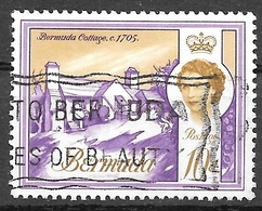 1965 10d Queen Elizabeth, Used - Bermuda
