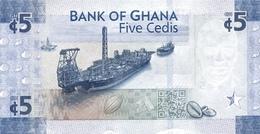 GHANA P. 44 5 C 2017 UNC - Ghana