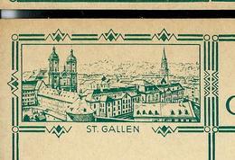 Carte Illustré Neuve N° 115 - 015  ST. GALLEN    (Zumstein 2009) - Entiers Postaux