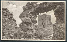 1920 Denmark Bornholm Hammershus Postcard. Sandvig - 1913-47 (Christian X)