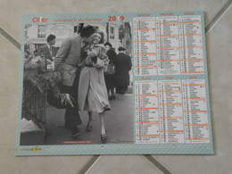 Les Amoureux Aux Poireaux 1950 - Information Scolaire 1956 - Calendrier 2019 Oller - - Calendriers