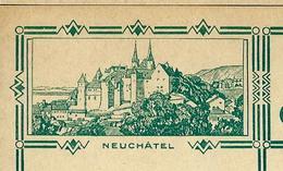 Carte Illustré Neuve N° 115 - 011  NEUCHÂTEL   (Zumstein 2009) - Entiers Postaux