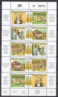Venezuela 1995 - 50 Yr School La Colina, Sheet Of 2 Sets - Mi. 2880-84  Yv. 1731-40  - MNH, NEUF, Postfrisch - Venezuela
