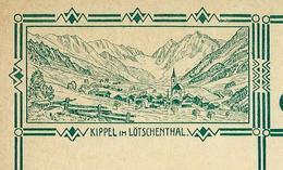 Carte Illustré Neuve N° 115 - 008 KIPPEL Im LÖTSCHENTHAL   (Zumstein 2009) - Entiers Postaux