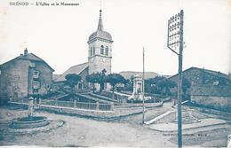 BRENOD ( 01 ) - L'Eglise Et Le Monument Aux Morts - Other Municipalities