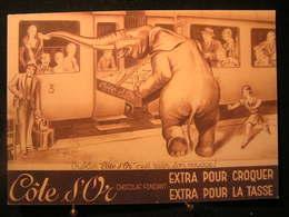"""AN - 202- Publicité - Chocolat Côte D'Or """" Oublier C'est Rater Son Voyage"""" Extra Pour Croquer - Extra Pour La Tasse. - Chocolat"""